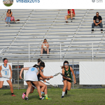 Instagram image of Taylor playing lacrosse